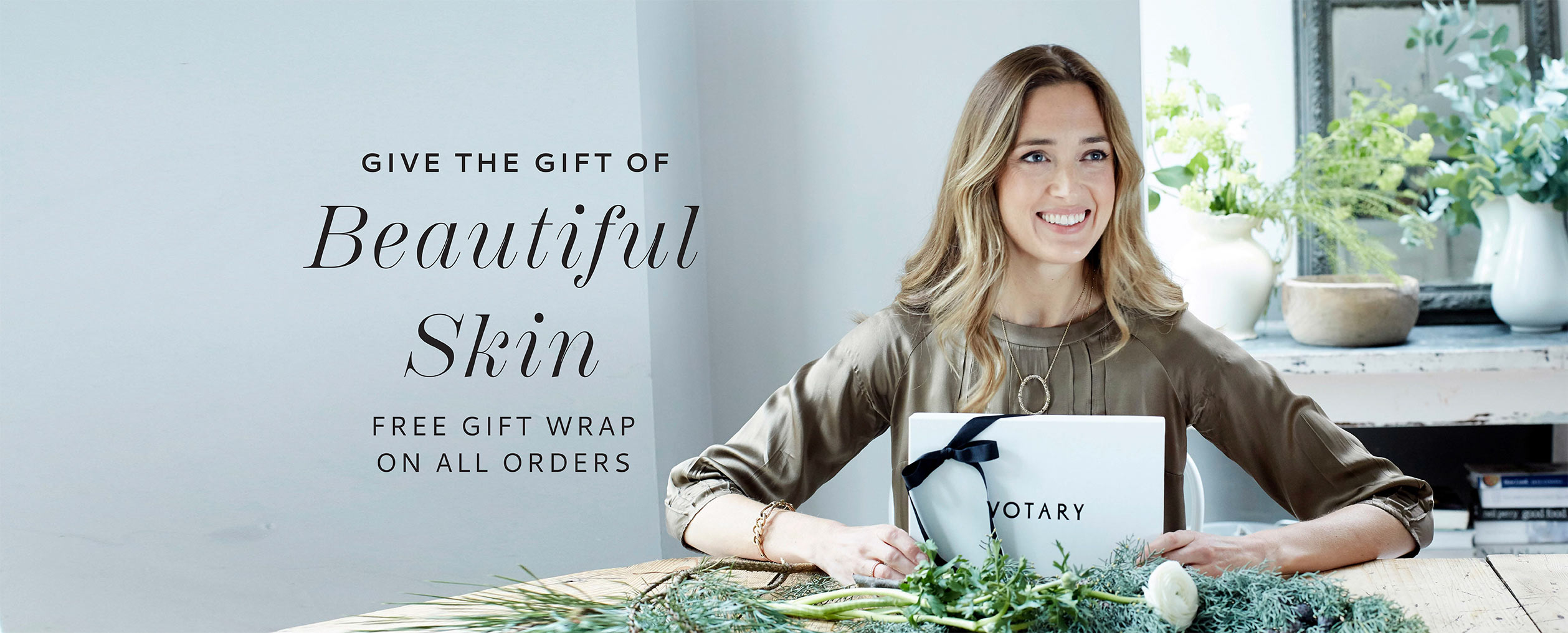 Votary gift wrap